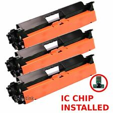 3pk CF230A Toner Cartridge For HP 30A Laserjet M227fdn M203dn M203dw M227fdw
