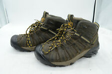 Keen Men's Voyageur Mid Sz 8.5 Leather Hiking Laced Outdoors Work Boots