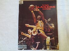 Los Angeles Lakers Illustrated, NBA Playoffs, 1972, Special Edition