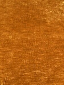 Theo Ochre F4200 By Colefax & Fowler - Woven, Velvet Fabric - Selling Per Metre