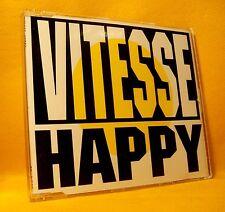 MAXI Single CD Vitesse Happy 3TR 1992 Dutch Pop Rock MEGA RARE !