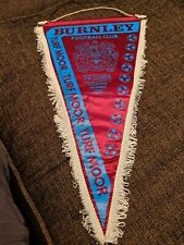 Burnley FC Pennant with signature