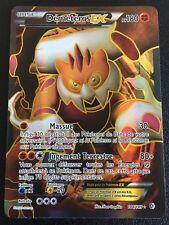 Carte Pokemon DEMETEROS 144/149 Holo EX Full Art Noir et Blanc Française NEUF