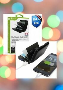NEW! SALE! iN TECH Power bank and Card Holder commercial GIFT Christmas present