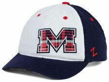 "Ole Miss Rebels NCAA Zephyr ""Women's Washed Plaid"" Adjustable Hat"
