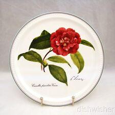 "Villeroy & Boch 2001 NEW YEAR Collector Plate ""Camellia facienlata vinosa"" EXC"