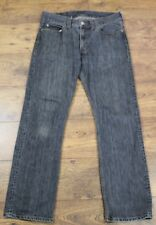"LEVI STRAUSS & CO homme jean gris levi's 506 JEANS-Taille 34"" Jambe 33"" levis"