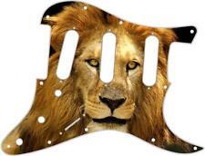 Stratocaster Strat Pickguard Custom Fender SSS 11 Hole Guitar Pick Guard Lion 2