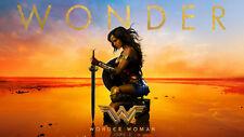 Gal Gadot Wonder Woman Silk Poster/Wallpaper 24 X 13 inches