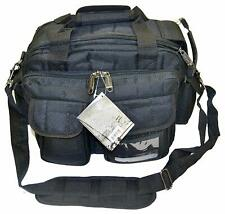 Ultimate Deluxe Tactical Pistol Black Range Bag Polyester 1200D Heavy Duty