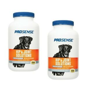 2 Pro Sense Hip & Joint Solutions Glucosamine 60 Chewable Tablets For Dogs 500mg