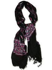 Sir Alistair Rai Prayer Scarf Wrap Black pink white treasure stitch love 2 heart