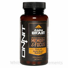 Onnit Labs Alpha Brain 30 Capsules