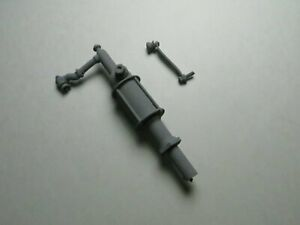 MM769 1/12 Dollhouse Miniature Barrel Pump for a 55 gallon drum Pewter Casting