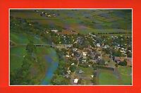 Home of Helen Hayes Postcard Rockland County New York Aerial View of Nyack