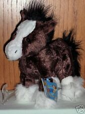 Webkinz Brand New w/ Sealed Tag Code - Clydesdale Horse