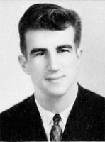 JOHNNY PESKY High School Yearbook SENIOR Year  MR. RED SOX