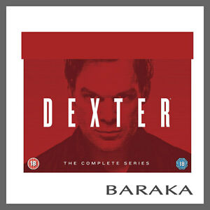 "DEXTER COMPLETE SEASONS SERIES 1, 2, 3, 4, 5, 6, 7 & 8 DVD BOX SET R4 ""clearance"