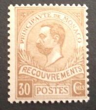 timbre Taxe monaco , n°10, xx, CN, cote 650e grande fraîcheur