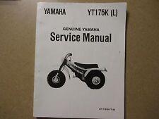 Yamaha YT175 K YT 175 K 3 wheeler trike motorcycle service & repair manual