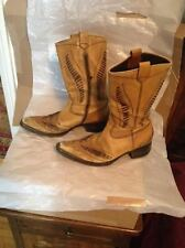 DEBUT Cowboy boots, 41 EU - 8 US, Made in ITALY.
