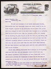 Silver Creek NY  Eureka Wheat Cleaning Machinery Howes & Ewell  1885 Letter head