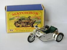 Matchbox Lesney Models Of Yesteryear Emballé Sunbeam Moto Et Sidecar Y8 1962