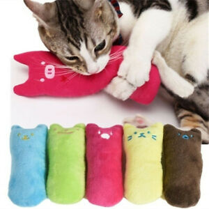 1Pc Catnip Pillow Pet Cat Toy Gift Chew Crazy Grinding Play Toys Teeth Scratch
