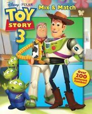 Toy Story 3 Mix and Match by Disney Book Group Staff (2010, Board Book)