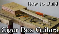 How to build Cigar Box Guitars DVD 3 and 4 string make Slide & Resonator