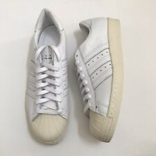 NEW Adidas Originals Superstar 80's Recon White Leather Mens Size 12 EE7392