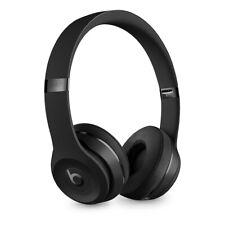 Matte Black Beats by Dr. Dre Solo3 Wireless Headphones Euc + Box & Accessories
