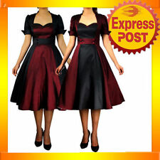Satin Party/Cocktail Retro Dresses for Women