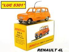 RENAULT 4L AUTOROUTE #518A N°72 SÉRIE 1 PAR DINKY TOYS / ATLAS