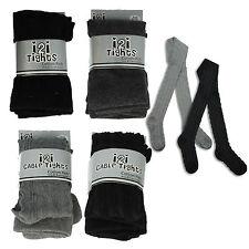 Ropa de niña de 2 a 16 años de color principal negro 100% algodón