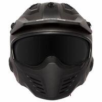 Spada Storm Matt Titanium Moto Motorcycle Motorbike Helmet