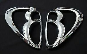 CHROME TAIL LIGHT LAMP BACK COVER TRIM FOR MITSUBISHI L200 ANIMAL TRITON PICKUP