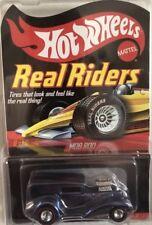 Hot Wheels Real Riders Mob Rod Blue RLC Redline