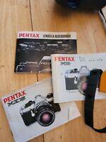 Vintage Pentax ME SUPER + Zoom lens and 28mm lens + carrying case