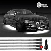 White Single Color LED 4 pcs Tonneau Cover Bed Light Kit from XKGLOW Auto OFF