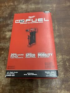 """Milwaukee 2485-20 M12 FUEL 1/4"""" Right Angle Die Grinder (Tool-Only) Brand New!"""