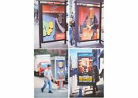 KAWS Bus Shelters Postcard Set of 4 2019 NGV EXCLUSIVE HYPE Ready to Ship Rare