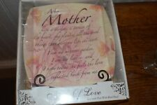 """My Mother"" Notes of Love plate NIB"