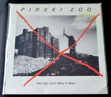 PINKSKI ZOO-THE CITY CAN'T HAVE IT BACK-PINS003-UK-ELECTRONIC-1982-SEALED LP