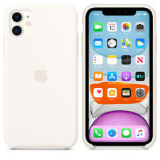 For Apple Iphone 11 Genuine White Silicone Case Official Covers Skins