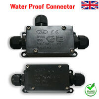 IP65 Waterproof Junction Box Underground Cable Line Protection Connector 2/3 Way