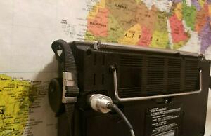 Realistic DX 440 Shortwave & FM External Antenna incl clip on and RCA plug