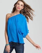 Madison Marcus Blue On Shoulder Blouse Color: Cerulean Blue  Small S33680 - 14
