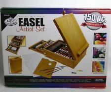 All Media Easel Artist Set 150 Pcs Royal Langnickel Paints Pastels Brushes Oils