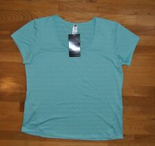 NWT Womens ACTIVE LIFE Mint Green Performance Wicking Fitness Shirt Sz XXL $48